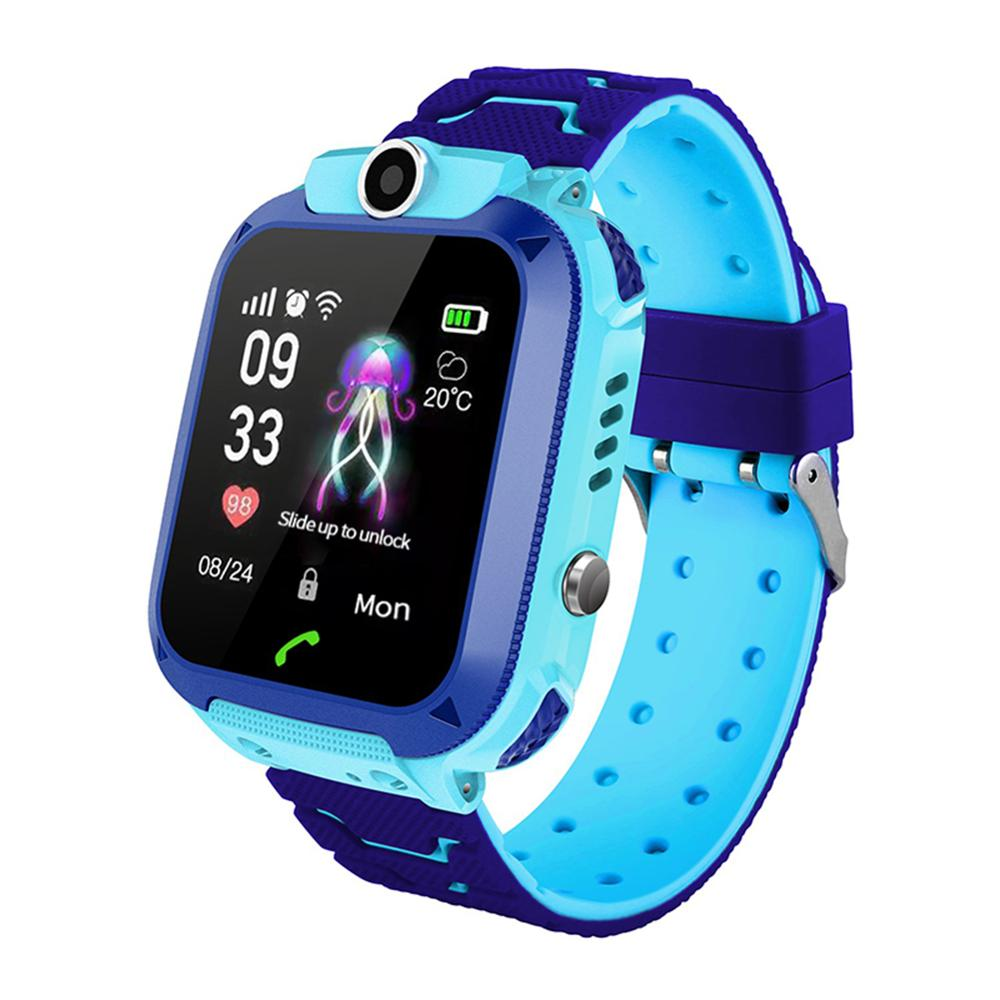 Children's Watch Soft Silicone Strap Touch Screen IP67 Waterproof Location Multi-functional Watch 1.44 inch