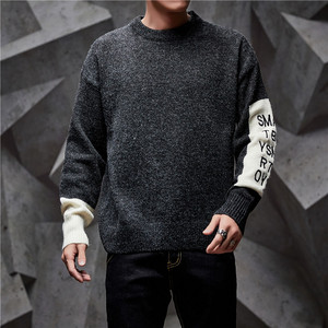 Image 4 - SingleRoad Thick Sweater Men 2019 Winter Wool Clothes Knitted Pullover Cashmere Sweaters Male Loose Fashion Jumper High Quality