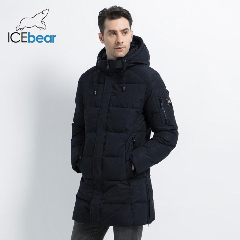 ICEbear 2019 新冬メンズジャケット高品質男性のコート厚く暖かい男性の綿の服ブランド男アパレル MWD17933I  グループ上の メンズ服 からの パーカー の中 2