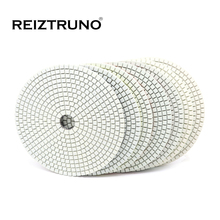 REIZTRUNO 6 inch Square Diamond polishing pads 150mm wet granite disc for angle grinder
