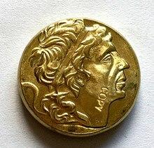 Pièces de monnaie grecque pont-royaume DU pont-mitridate VI LE GRAND hexadrechme
