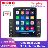 REAKOSOUND 2 Din Autoradio schermo verticale Audio Stereo Bluetooth Autoradio interconnessione cellulare lettore Video multimediale