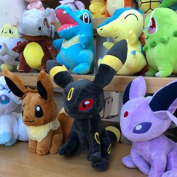 41 Style Pokemoned plush doll Pikachued stuffed toy Charmander Squirtle Bulbasaur Jigglypuff Eevee Snorlax Lapras kids gift 6