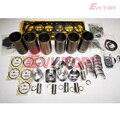 Voor Volvo D7D motor onderdelen D7D ZUIGER + RING CILINDER LINER MOTOR PAKKING LAGER
