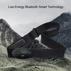 Image 5 - Cinturón de pecho con control del ritmo cardíaco, Bluetooth 4,0, rastreador de ejercicios para deportes al aire libre y musculación EZON C009