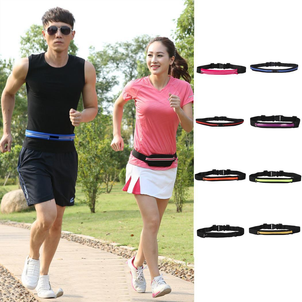 Running Bag Sports Waterproof Waist Bag Pocket Jogging Portable  Cycling Bum Bag Outdoor Phone Anti-theft Pack Belt Bags