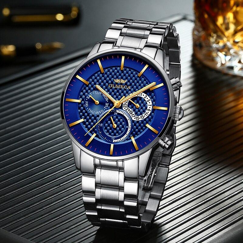 2019 relógios masculinos esportes relógio de quartzo