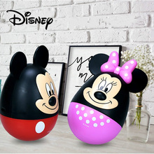 Disney Piggy Bank for Kids Mickey Mouse Tumbler Piggy Bank Minnie Mouse Treasure Box Play Coins Toy Bank Girls Boys Gift