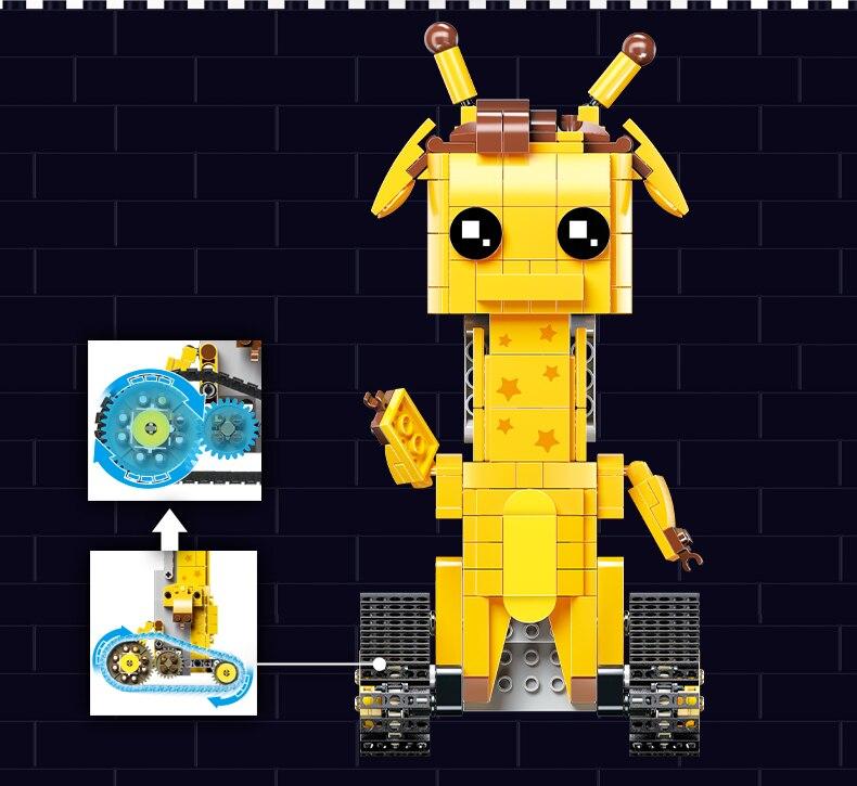 MOULD KING  Technic Crawler robot Walking Building Block 21