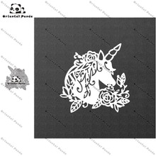 New Dies 2020 unicorn Metal Cutting diy photo album cutting dies Scrapbooking Stencil Die Cuts Card Making metal die