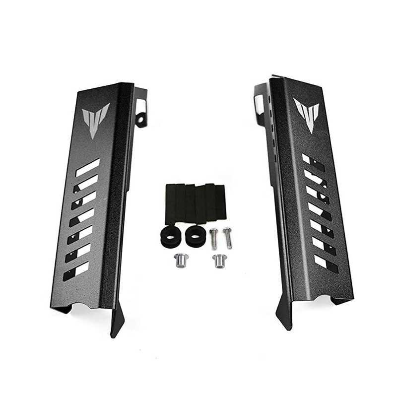 Protector de la rejilla del radiador y Protector de la cubierta lateral para Yamaha MT09 MT-09 FZ-09 2014 2015 2016 2017