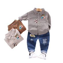 Baby Shirt Tracksuits Pants Clothing Kids Spring Toddler Boys Fashion Casual Children