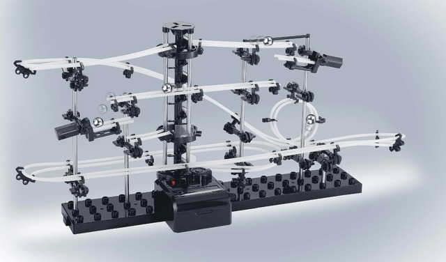 2015New Space Raill, Funny Building Kit, Roller Coaster Toys, SpaceRail Level 2, DIY Spacewarp Erector Set, 6500mm Rail 3