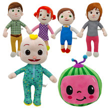 2020 Новый cocomelon плюшевая игрушка мультфильм ТВ серии семьи