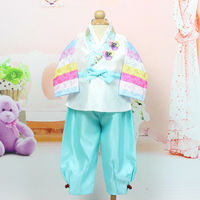 Korean Traditional Hanbok For Baby Boy Birthday Party Korean National Kid Dolbok Baby Boy Outfit