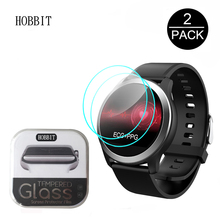 2Pcs 2.5D Clear Tempered Glass For LEMFO ECG PPG Smart Watch IP68 Screen Protector Scratch Resistant Screen Guard Film