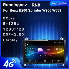 Android 10.1 pour Mercedes Benz B200 Sprinter W906 W639 AB classe W169 W245 Viano Vito multimédia stéréo lecteur de voiture GPS Radio