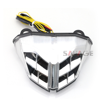 For DUCATI Streetfighter 848/1100 2012 2013 2014 Motorcycle Integrated LED Tail Light Turn signal Blinker Lamp Clear