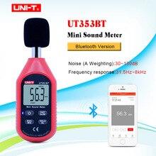 UNI-T UT353BT измеритель уровня звука цифровой Bluetooth измеритель уровня шума Тестер 30-130дб децибел мониторинг уровня звука