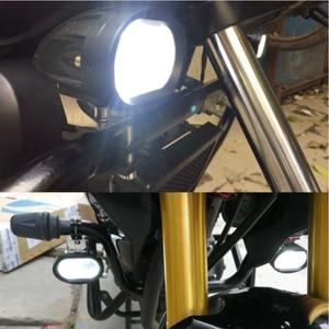 Image 5 - Arbeit Licht 20W LED Sopot Lampe 6D Driving Truck 12V 24V Hilfs Universal Bernstein Gelb Weiß Off straße Motorrad Nachrüstung