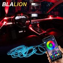 Neon-Wire-Strip-Light Neon-Lamp Car-Atmosphere-Lights Sound-Control Auto-Interior-Decorative-Ambient