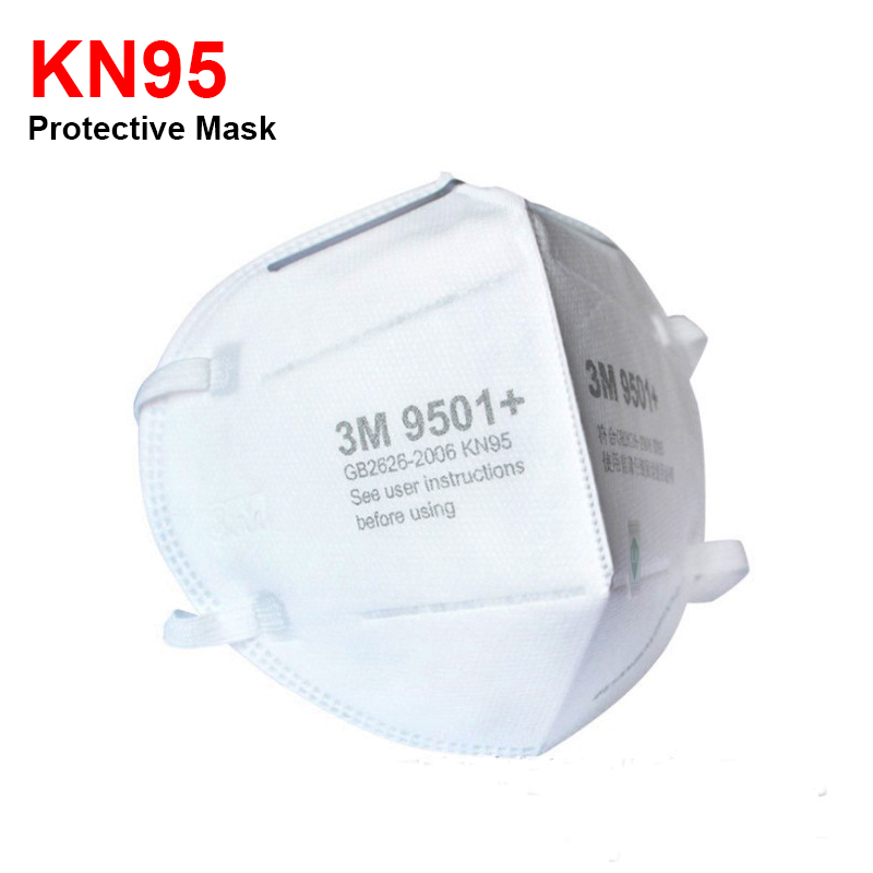 3M Masks 9501 KN95 Dust Mask Anti-haze Riding Protective Mask Anti-particles Filter PM2.5 Safety EarLoop KN95 Mouth Face Masks 2