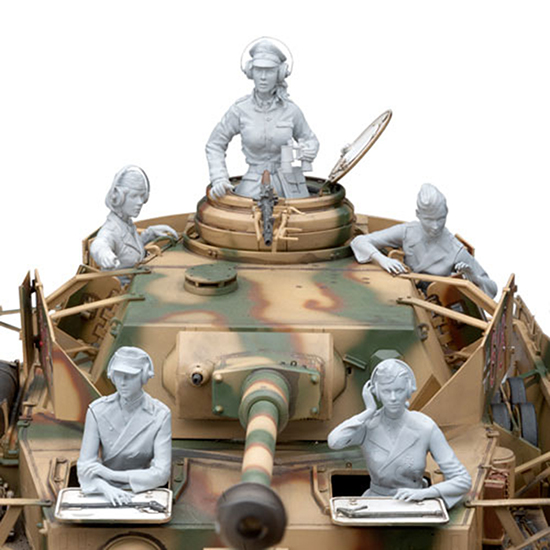 1/16  Modern Female Tank Crew Include 5  (NO TANK )  Resin Figure Model Kits Miniature Gk Unassembly Unpainted