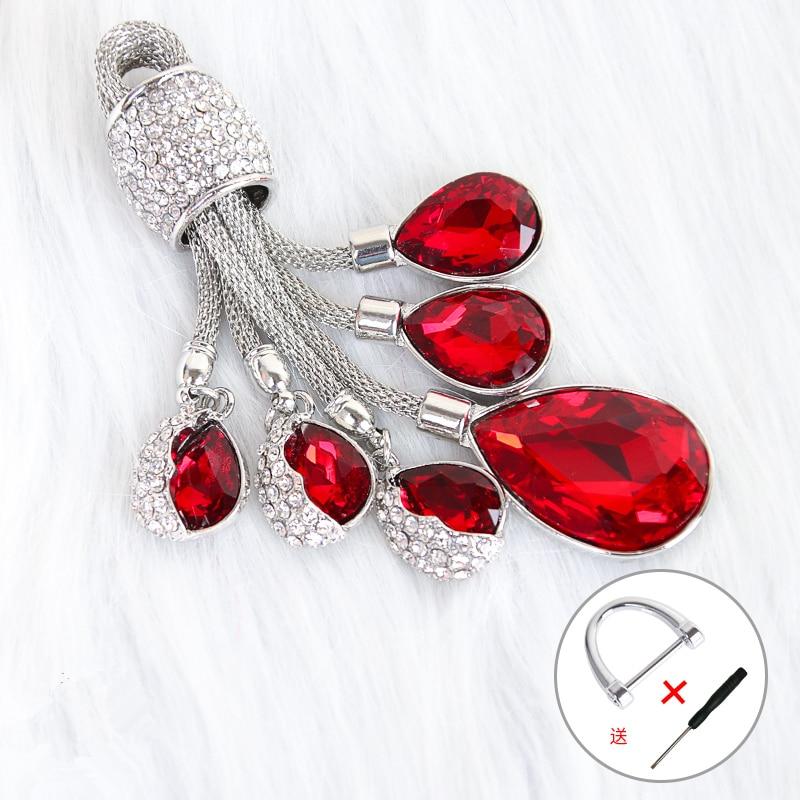 red keyring