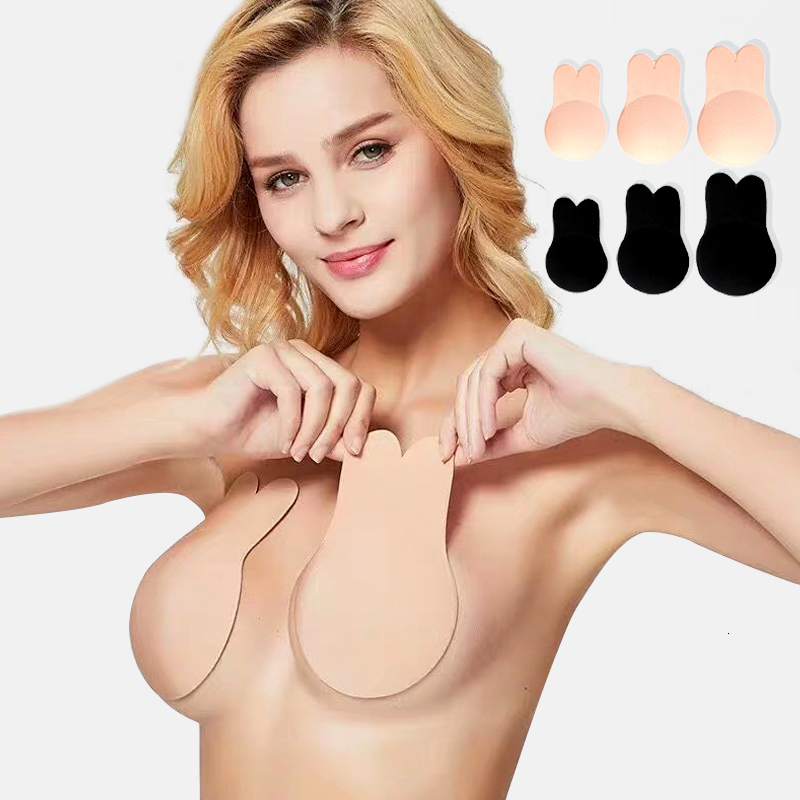 2019 Intimates Sexy Lingerie Women Silicone Bras Strapless Bras Seamless Invisible Push Up Soft Underwear Womans Accessories