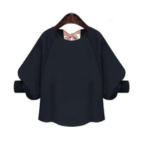 Plus size short sleeve blouse japanese streetwear women blouses harajuku chiffon white shirt summer tops for 2019
