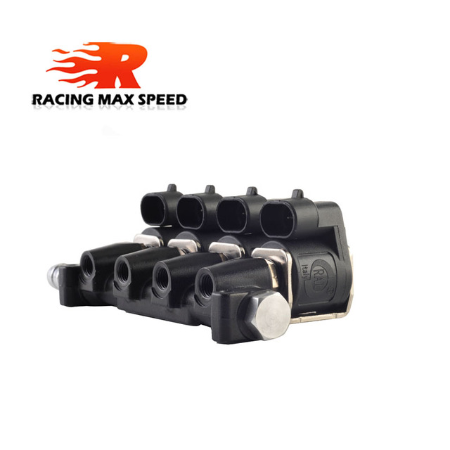 LPG/CNG sekwencyjny układ wtrysku paliwa Auto zestaw do konwersji gazu wtryskiwacz Rail 2 lub 3 ohm wtryskiwacz samochodowy