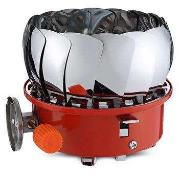 Kuchenka gazowa na zewnątrz Camping kuchenka gazowa przenośna Mini kuchenka tytanowa Survival kuchenka kieszonkowa piknik kuchenka gazowa 3000w tanie i dobre opinie W zestawie Brak paliwa 10 Do przypraw w płynie Metal One-piece manual Normalne warunki na zewnątrz