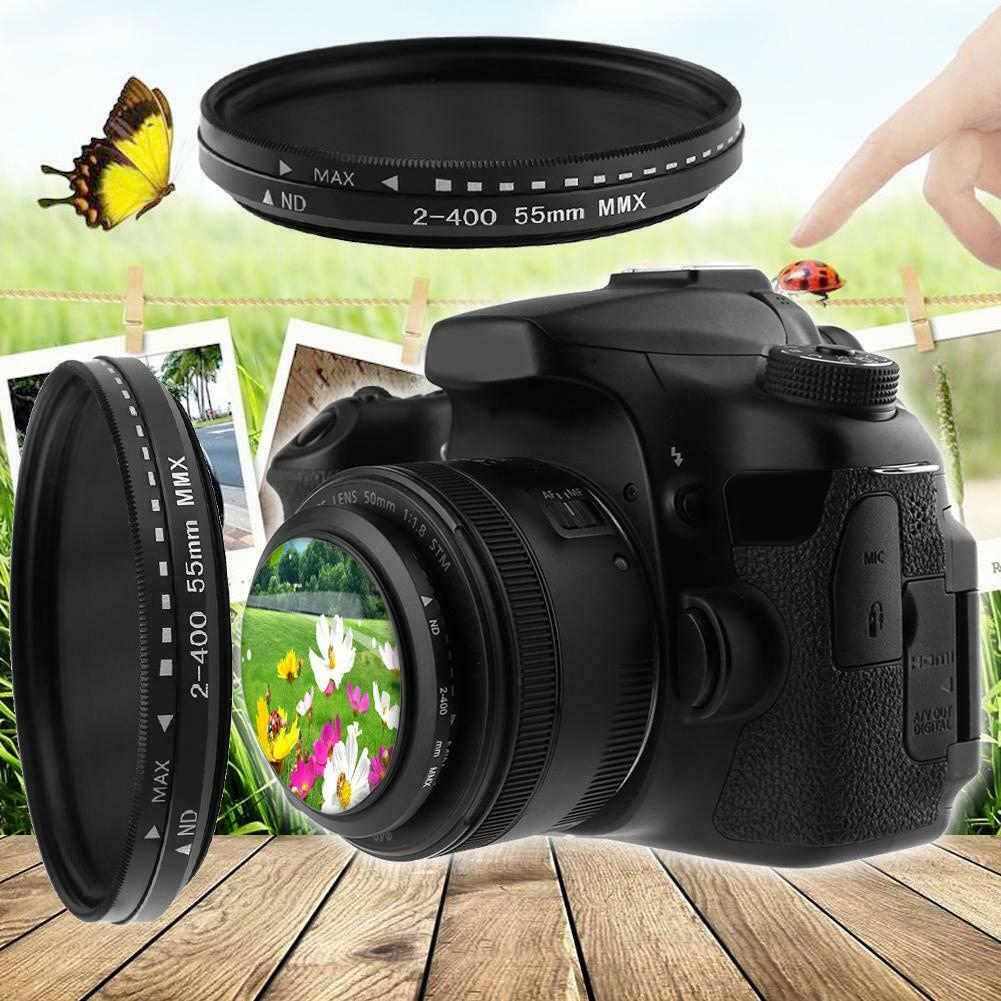 Fader VARIABLE ND กรอง ND2 TO ND400 Neutral Density สำหรับกล้องเลนส์ JR ราคาถูก