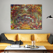 Claude Monet Wallpaper Wall Art Canvas Posters And Prints Canvas Painting Decorative Pictures For Office Living Room Home Decor claude monet morning on the seine canvas painting posters prints marble wall art painting decorative pictures modern home decor