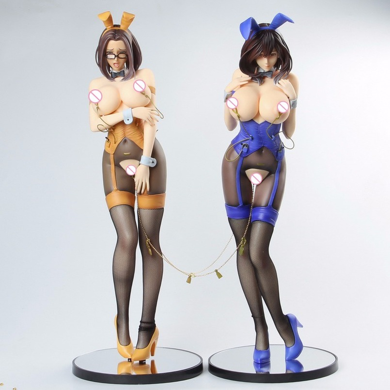 41cm Native Non Virgin Bunny <font><b>Girl</b></font> <font><b>Sexy</b></font> <font><b>Girls</b></font> Action Figure Japanese Anime PVC Adult Action Figures Toys Anime Figures Toy image