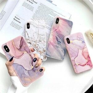 Vintage Marble Case For Huawei Y8S Y5p Y8p Y6p Y7p Honor Play 9A 9S 9C X10 10 20 9 8X 9X Lite 30 S 10i 8A Nova 5T 7 Pro TPU Case