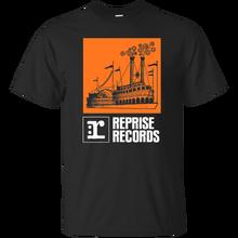 Disques de Reprise de bateau de rivière, étiquette d'enregistrement rétro, musique, entreprise, T-shirt