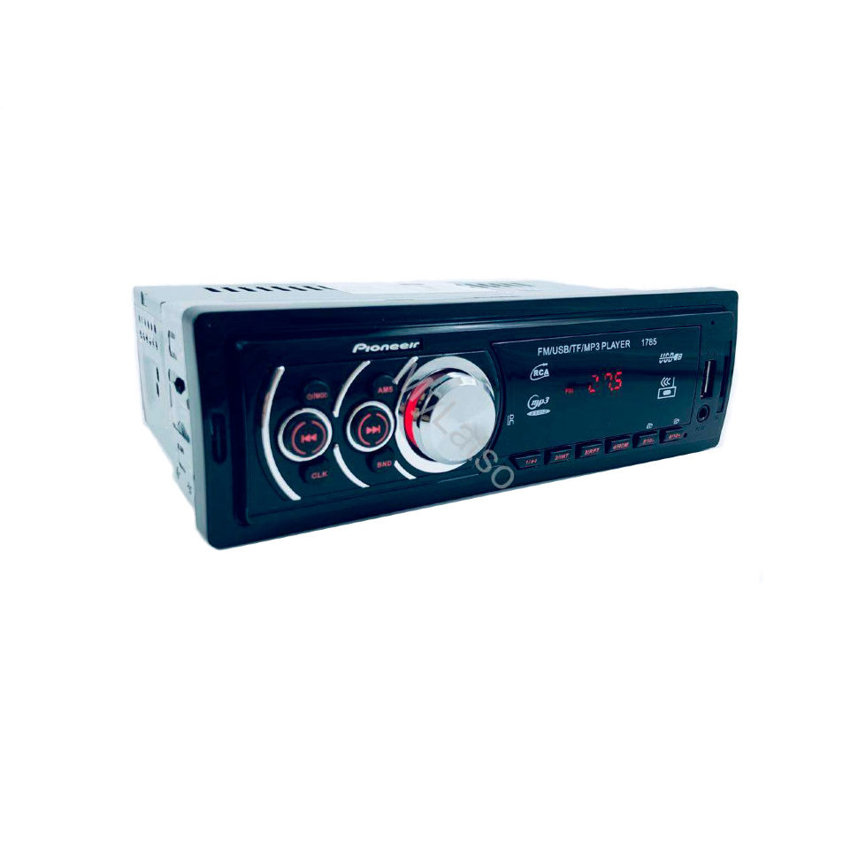 Car Radio Pioneeir OK 1784 MP3 USB MMC SD Aux 1din 4*12W FM Radio Dc12v IR LED Lights
