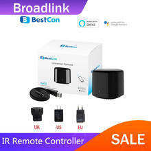 החדש Broadlink 2020 Bestcon RM4C מיני אוניברסלי 4G Wifi IR מיני שלט רחוק תואם Alexa גוגל עוזר עבור AC