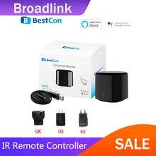 Plus récent Broadlink 2020 Bestcon RM4C mini universel 4G Wifi IR Mini télécommande Compatible Alexa Google Assistant pour ca