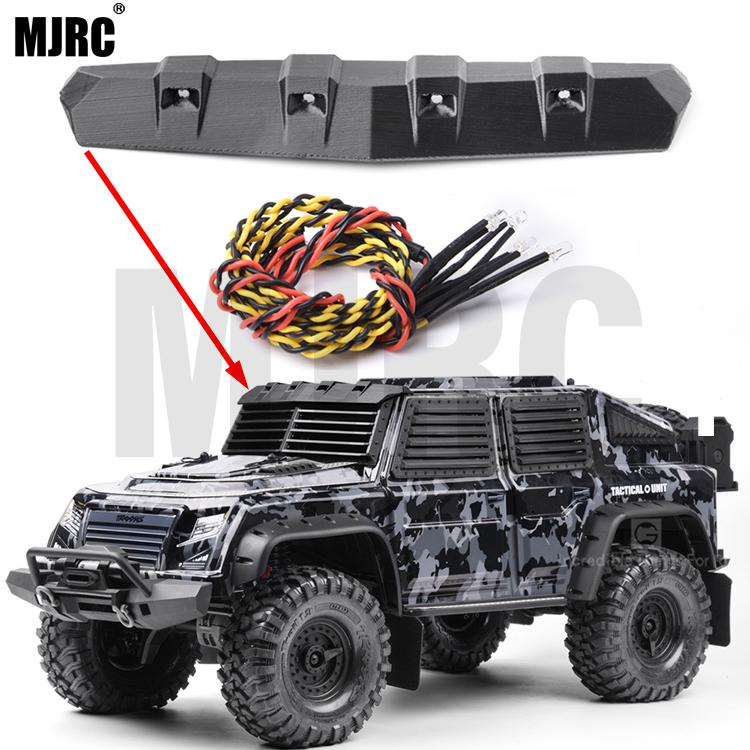 3D Printing PLA Front Windshield Defensive Cover For 1/10 RC Crawler Car Traxxas TRX-4 TACTICAL UNIT TRX4 82066-4