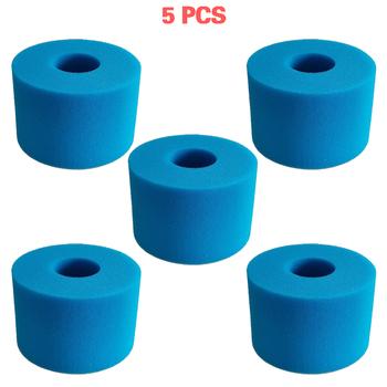 5 10 sztuk dla Intex Pure Spa wielokrotnego użytku zmywalny piankowy wkład do filtra jacuzzi typu S1 tanie i dobre opinie OSSIEAO CN (pochodzenie) For Intex Filtry