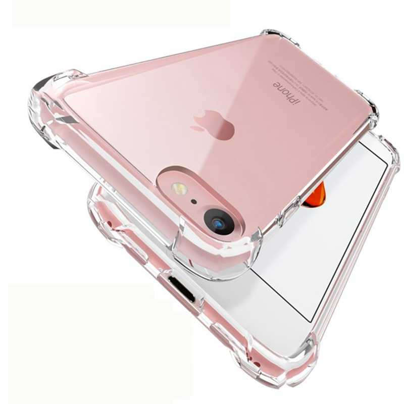 Voor Iphone 11 Pro Case Luxe Airbag Schokbestendig Clear Telefoon Case Voor Iphone 11 Pro Xs Max Xr X 6 6S 7 8 Plus Transparant Cover