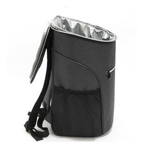 Image 5 - Mochila de enfriamiento aislante de 20L, bolsa térmica para el refrigerador Bento, bolsa para Picnic al aire libre, mochila para el almuerzo, para viaje de Camping