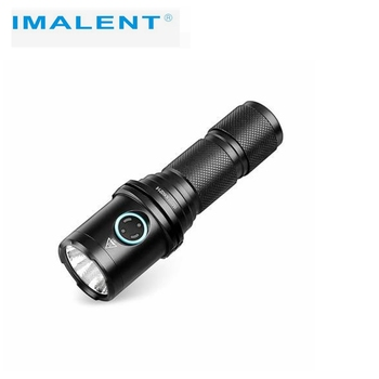 Imalent - DM70 CREE XHP70 LED Flashlight, 4500 Lumens Rechargeable Tactical Flashlight with 21700 Battery for Hiking and Camping new arrivals multifunction waterproof adjustable cree led flashlight telescope for hiking camping climbing with 16340 battery