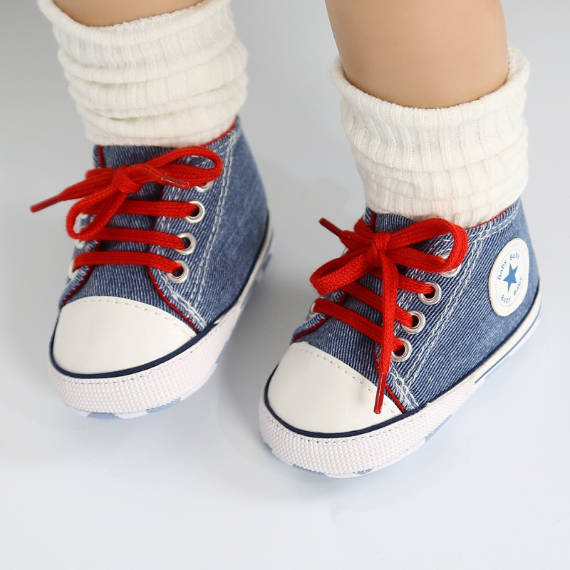 32 Colors Classic New Canvas Baby Sports Sneakers Infant Toddler Soft Anti-slip Baby Shoes Newborn Boys Girls First Walkers Shoe