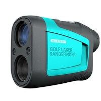 HD Laser Rangerfinder Handheld PF210 Laser Range Finder 600 Meter for Golf Hunting Survey 6X Magnification Distance Measuring