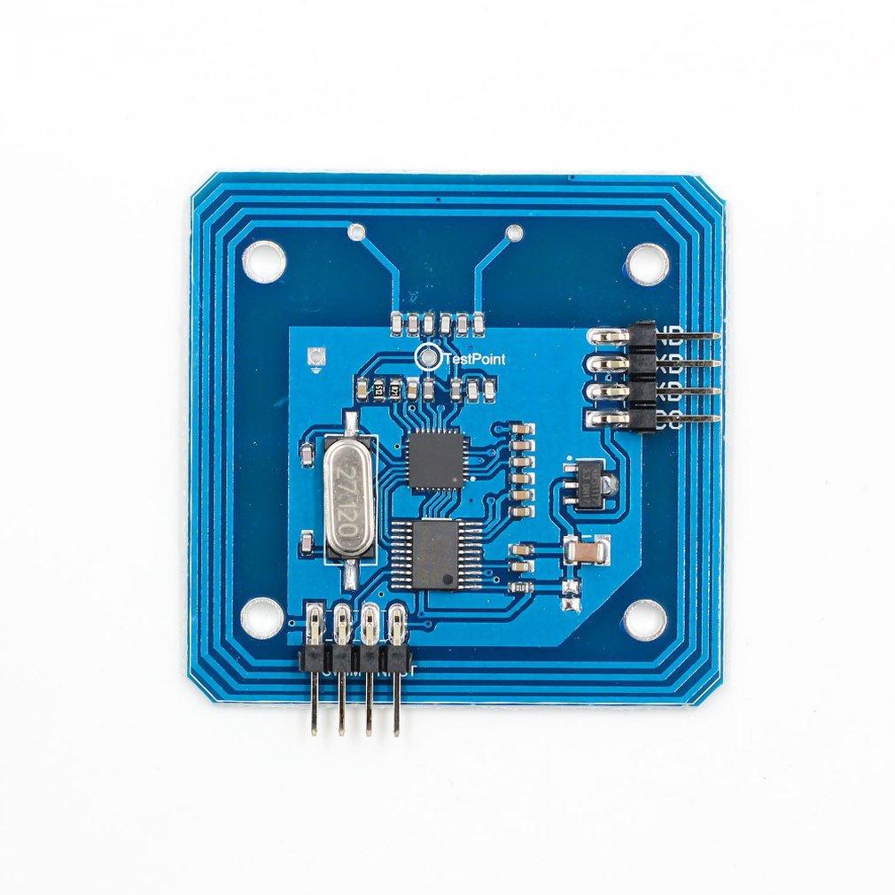 Card Reader Module Rc522 Serial Reader 13.56Mhz Ic Card Rf Module Development Board Rfid