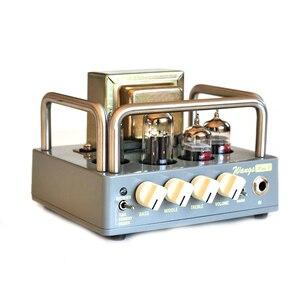 Image 2 - Elektrische Alle Rohr Gitarre Verstärker Kopf Biyang Wangs MINI 5 AMP Kopf Einstellen Volumen Und Ton