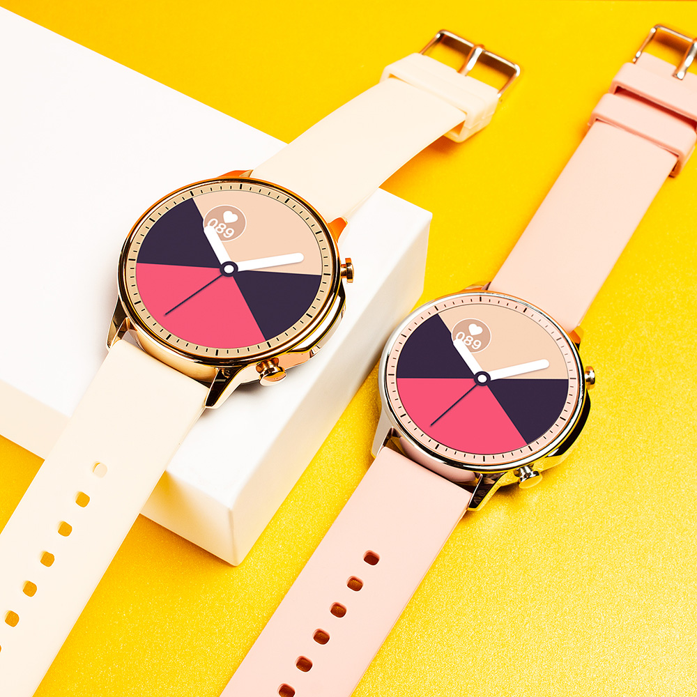 H801a091af9604fd18a4b98d8d93b0184C COLMI V23 Women Smart Watch Full Touch Fitness Tracker IP67 Waterproof Blood Pressure Smart Clock Men Smartwatch